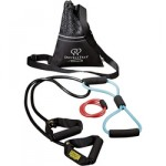 Resistance band kit with dvd, great for company biggest loser competitions