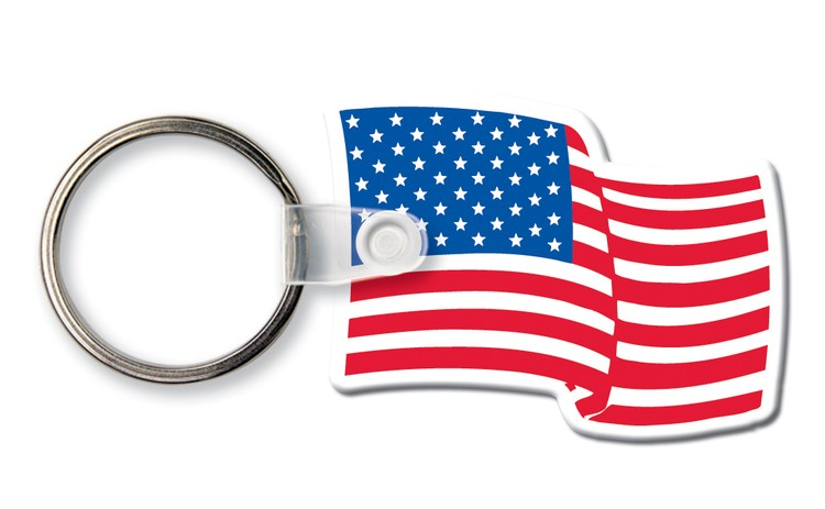 flag key chain