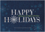Custom holiday cards for business gifts